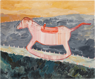 Xi Zhang, 'Wood Horse,' 2016, Phillips: New Now (February 2017)