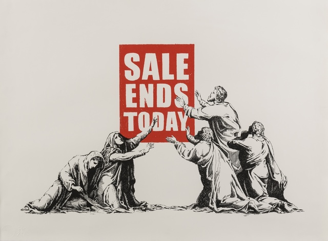 Banksy, 'Sale Ends v2', 2017, Forum Auctions