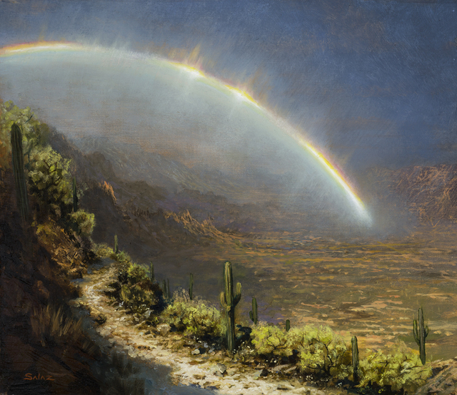 , 'Rainbow in the Desert,' , Rehs Contemporary Galleries