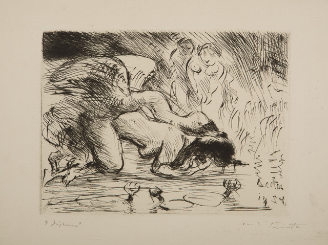 , 'Leda mit dem Schwan (Leda and the Swan),' 1924, Childs Gallery