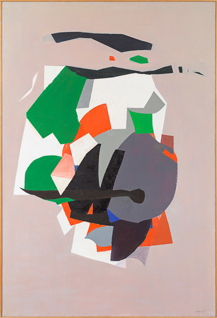 , 'Grey Abstract Composition,' c. 1960s, Rosenberg & Co.