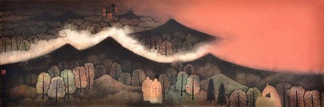 Hong Tao Huang 黄红涛, 'Nameless Hills Series 2 No.92', 2014, White Space Art Asia