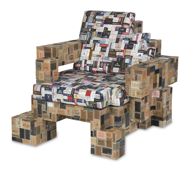 , 'Label Whore Chair 02,' 2012, Industry Gallery