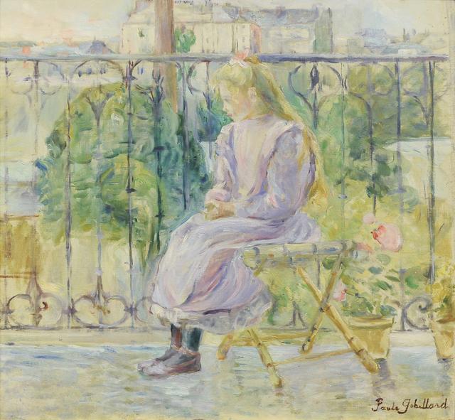 , 'On the Terrace, ca. 1900,' ca. 1900, Guarisco Gallery