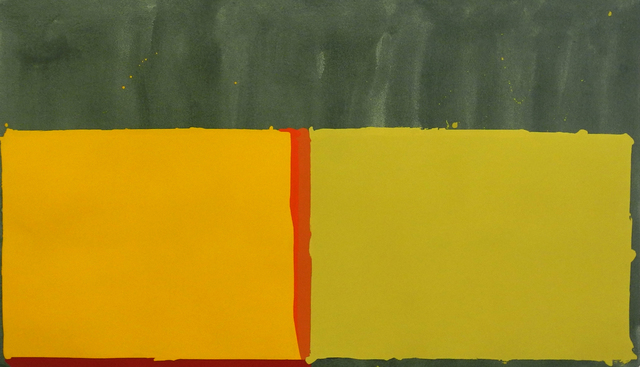 , 'Yellows,' 1969, Charles Nodrum Gallery