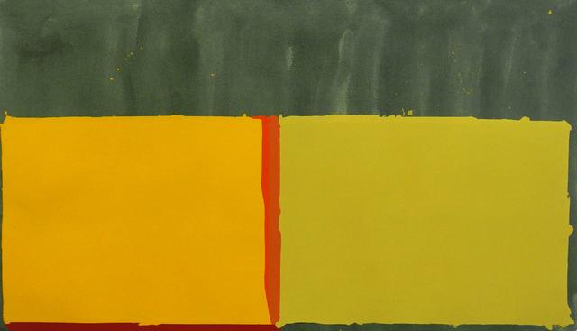 , 'Yellows,' 1969, Charles Nodrum Gallery