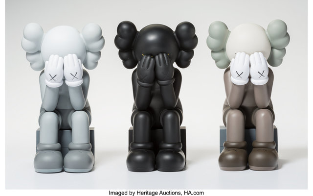 KAWS, 'Companion-Passing Through, set of three', 2013, Heritage Auctions