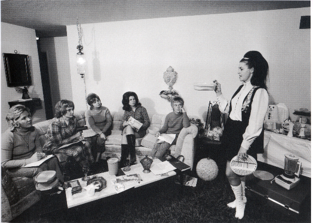 , 'I enjoy giving a Tupperware party in my house.,' 1971, PDNB Gallery