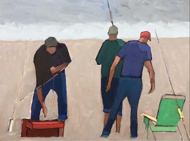 , 'Surf Casters,' 2018, Solace Studio + Gallery & Contour 19