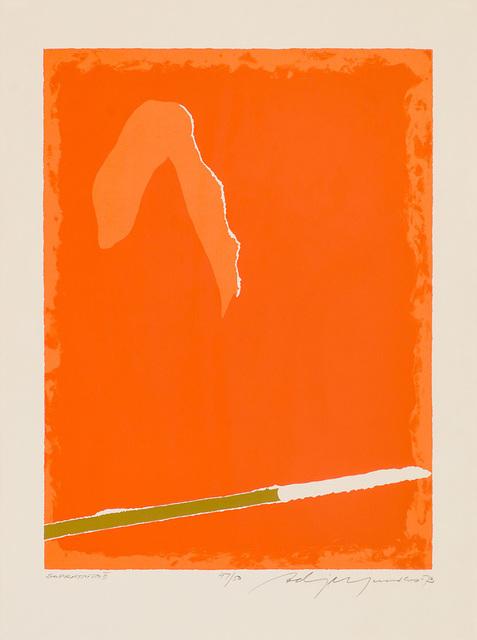 Adja Yunkers, 'Soprattutto II', 1973, Larsen Gallery