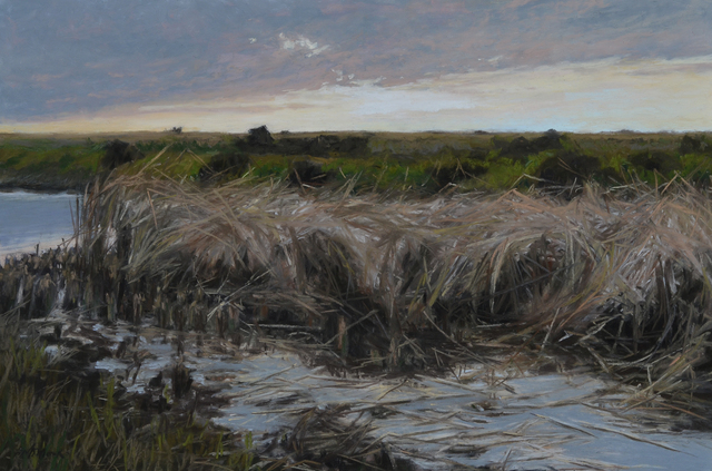 Mary Monk, 'Marsh Grass at Dusk', 2018, LeMieux Galleries
