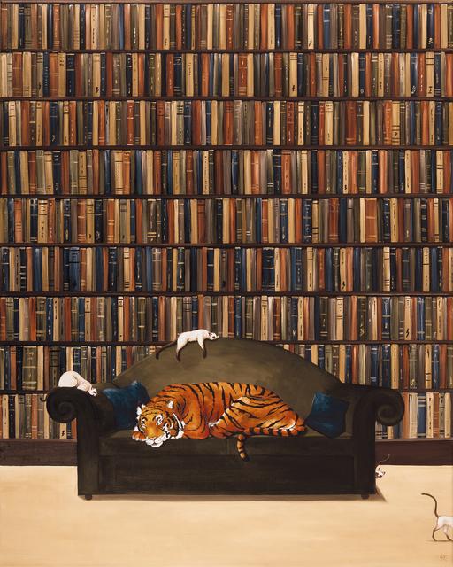 , 'A Clowder of Cats,' 2018, Jonathan Cooper