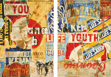 ", '""You"" (left) and ""Youth""(right),' 2017, Galerie von Braunbehrens"