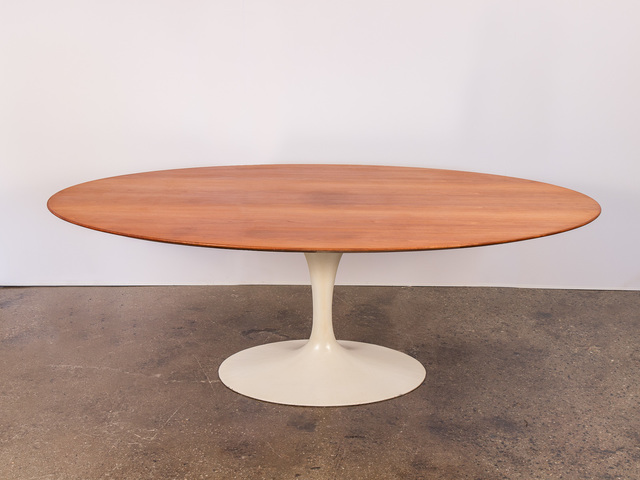 , 'Oval Walnut Dining Table for Knoll,' ca. 1956, Open Air Modern