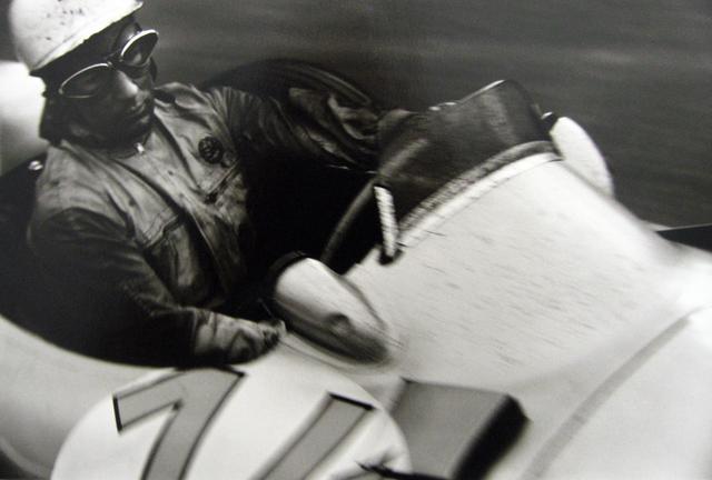 Jesse Alexander, 'Stirling Moss, Mercedes W196, Grand Prix of Belgium, Spa', 1955, PDNB Gallery