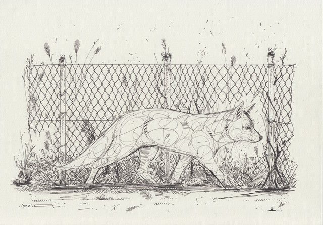, 'Fox fence,' 2019, GCA Gallery