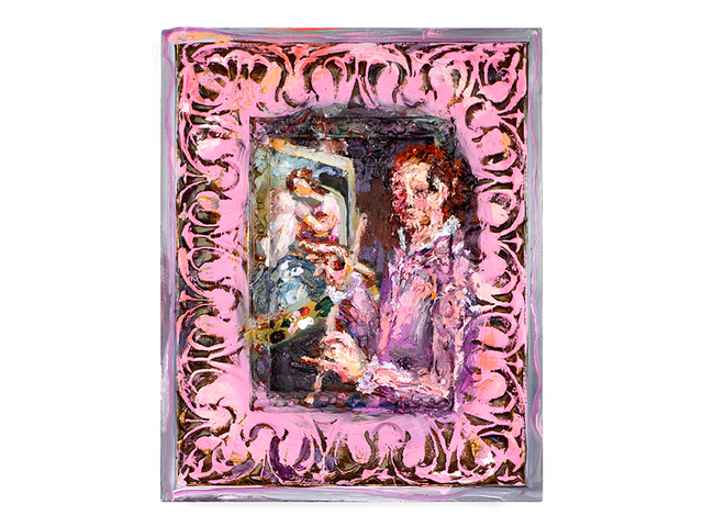 , 'Mirror, Mirror (after Sofonisba Anguissola),' 2018, Fisher Parrish Gallery