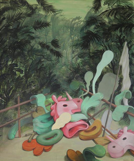 , 'Tropical after dark,' 2018, 99 Loop Gallery