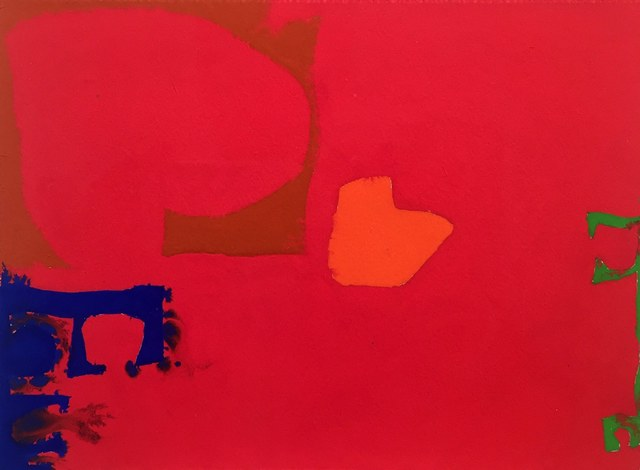 , 'Ultramarine, Sienna, Orange and Emerald in Cadmium,' 1970, Rumi Galleries