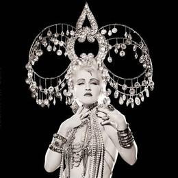 Cyndi Lauper, Headdress, Los Angeles, 1986