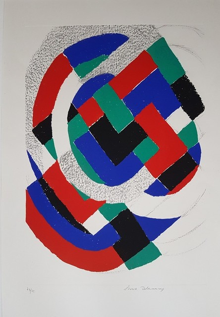 Sonia Delaunay, 'Untitled', 1972, Wallector