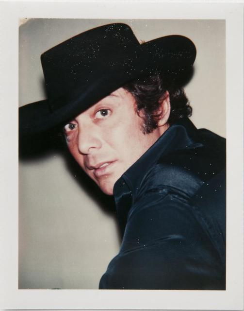 Andy Warhol, 'Andy Warhol, Polaroid Photograph of Paul Anka, 1975', 1975, Hedges Projects
