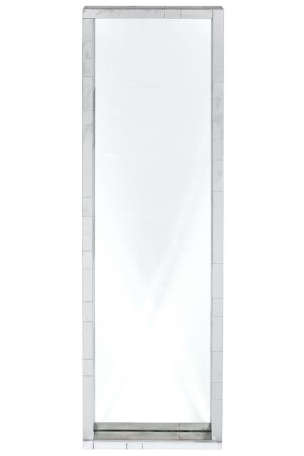 Paul Evans Studio, 'Mid-Century Modern Chrome-Plated Steel and Glass Cityscape Mirror', circa 1975, Design/Decorative Art, Chrome-Plated Steel and Glass, Doyle
