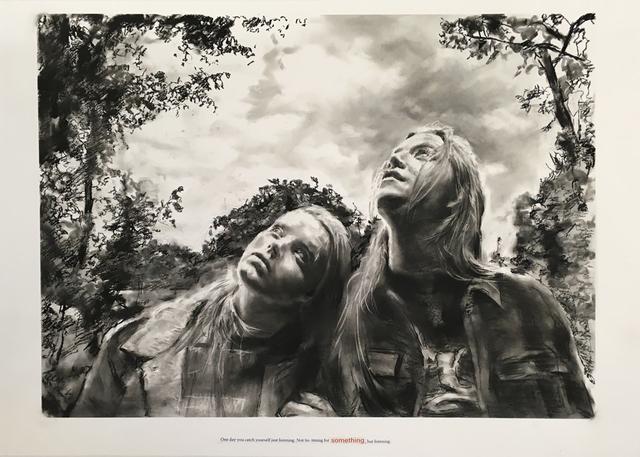 Muntean & Rosenblum, 'Untitled ( One day you catch...)', 2018, Galeria Horrach Moya