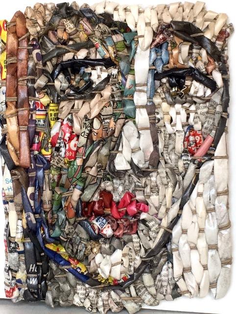, 'Female Head/Maestà #44,' 2017, Andrea Schwartz Gallery