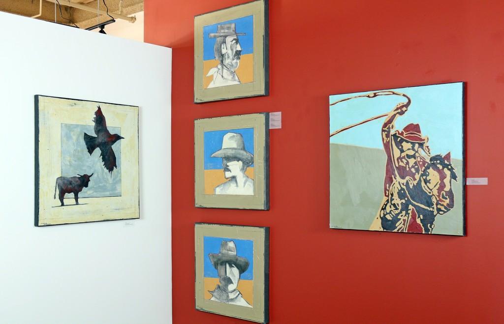 Michael Swearngin Display Wall