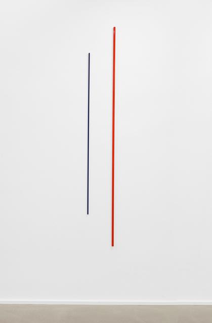 , 'Gerade versetzt - Raumsichten,' 2017, Galerie Christian Lethert