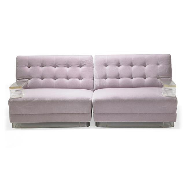 Style Of Paul Laszlo, 'Two single-arm lounge chairs, USA', Rago