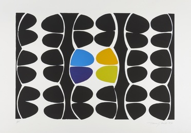 Sir Terry Frost, 'Variations (Black Segments) (Kemp 71),' 1974, Forum Auctions: Editions and Works on Paper (March 2017)
