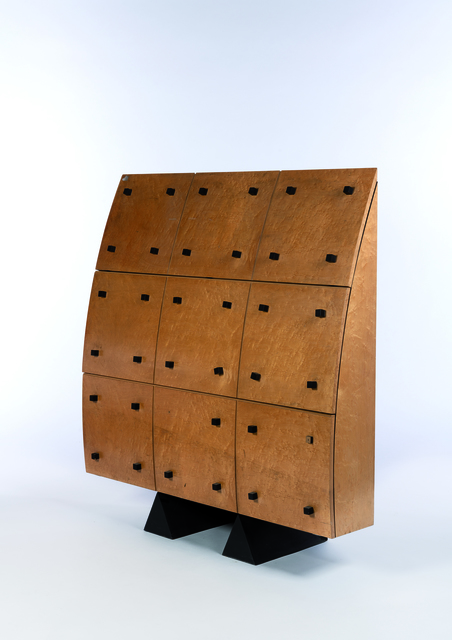 Jean-Louis Godivier, 'A secretary in wood', vers 1980, Leclere
