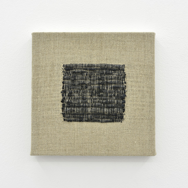 , 'Composition for Woven Square Solid (Black),' 2017, PRAZ-DELAVALLADE
