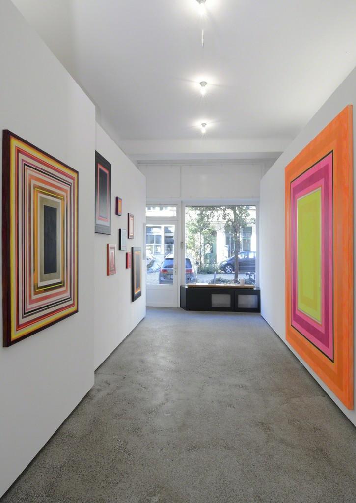 View of the exhibition at Garten-Salon; photo: Jürgen Baumann