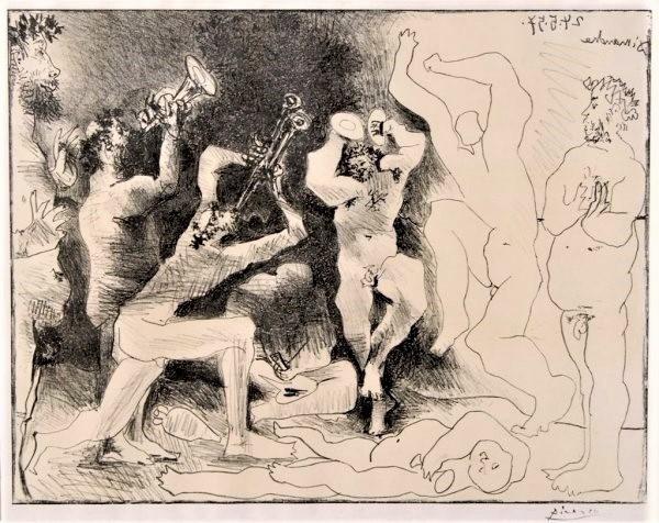 Pablo Picasso, 'La Danse des Faunes', 1957, Print, Original lithograph on Arches paper, michael lisi / contemporary art