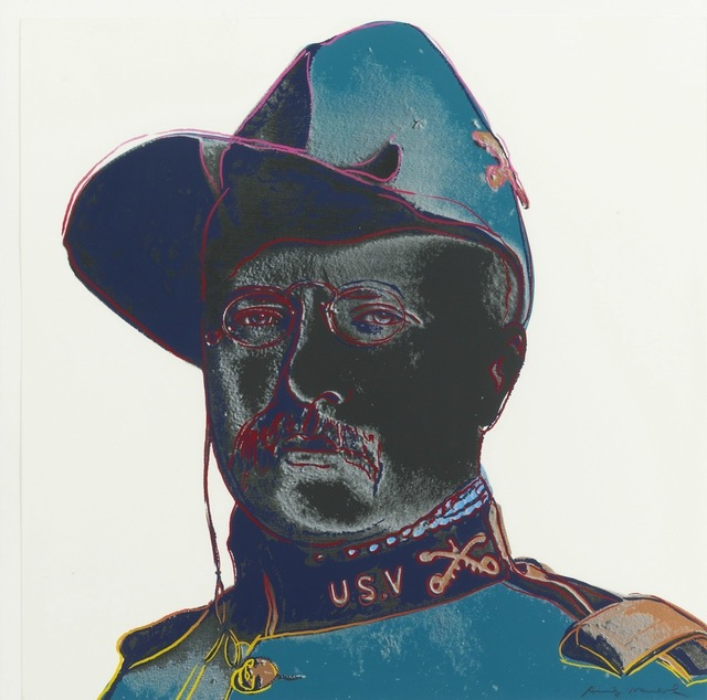 Andy Warhol, 'Teddy Roosevelt, from Cowboys and Indians', 1986, Gregg Shienbaum Fine Art