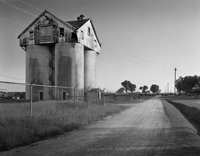 , 'Farm Silos, Cherry State Hospital, Goldsboro,  North Carolina,' 2007, Benrubi Gallery