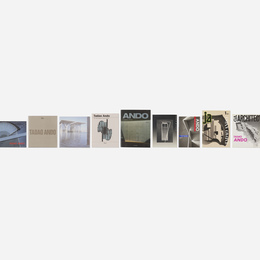 Tadao Ando monographs, twelve
