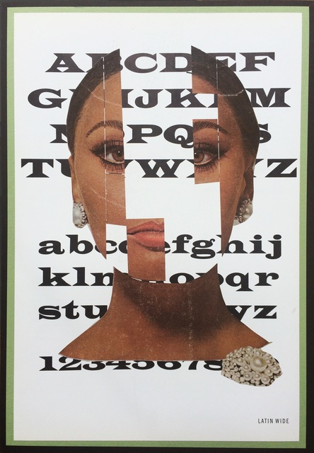 , 'Typeface, Latin Wide,' 2016, frosch&portmann