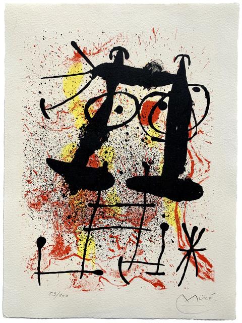 , 'Silence…,' 1967, Galerie Raphael