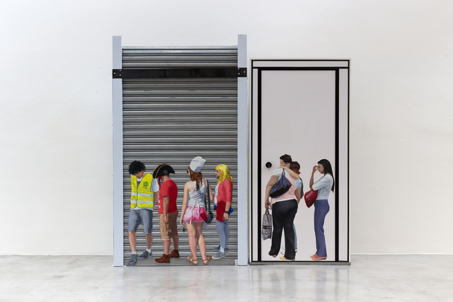 , 'Fila Única,' 2018, Zipper Galeria