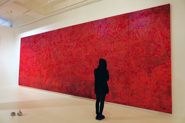 , 'Nights of Beruit, Red,' 2014, Mana Contemporary