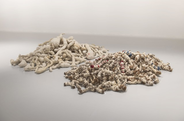, 'Cardboard and wire,' 1987, Mathaf: Arab Museum of Modern Art