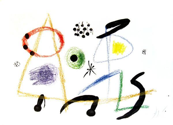, 'From Maravillas con Variaciones Acrosticas en el Jardin de Miro,' 1975, David Barnett Gallery