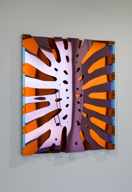 , 'Monstera Deliciosa, Fully Flared (Pink/Orange Variegated),' 2014, Quint Gallery