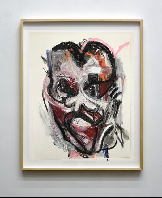 , 'Untitled (Portrait Study on Paper),' 2018, Mugello Gallery