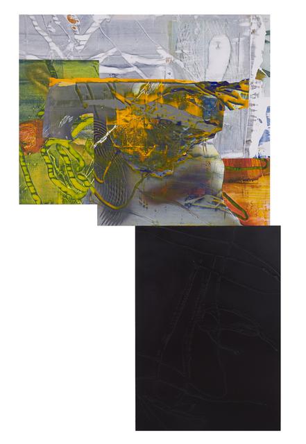 , 'Oarsman, Oarsman (For Susan Howe),' , Maybaum Gallery