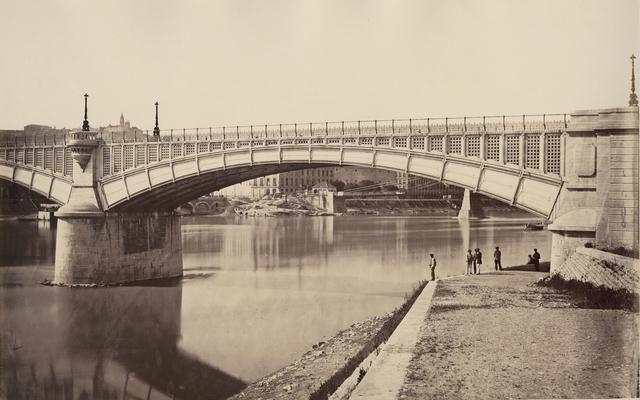 Édouard Baldus, 'Lyon, Viaduc du Rhone', 1861c/1861c, Photography, Albumen print from wet plate negative on original mount, Contemporary Works/Vintage Works